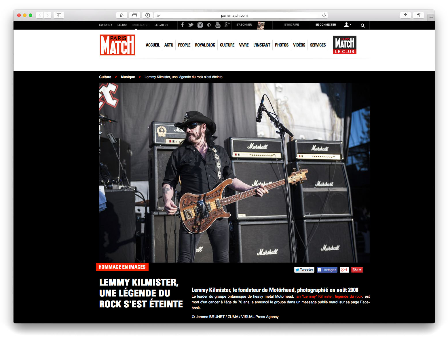 Motorhead live at the Shoreline