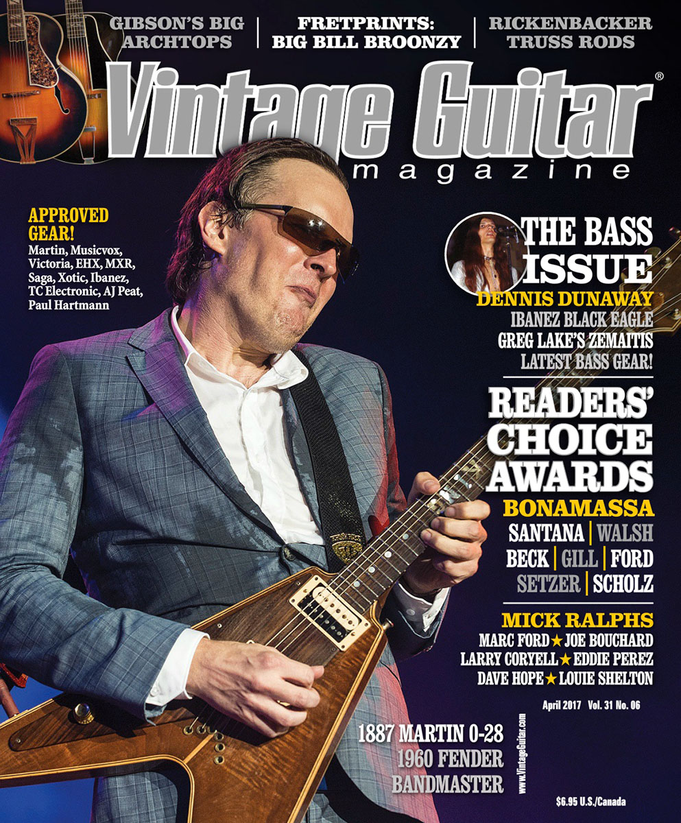 Jerome_Brunet_Vintage_Guitar_magazine_Joe_Bonamassa_cover