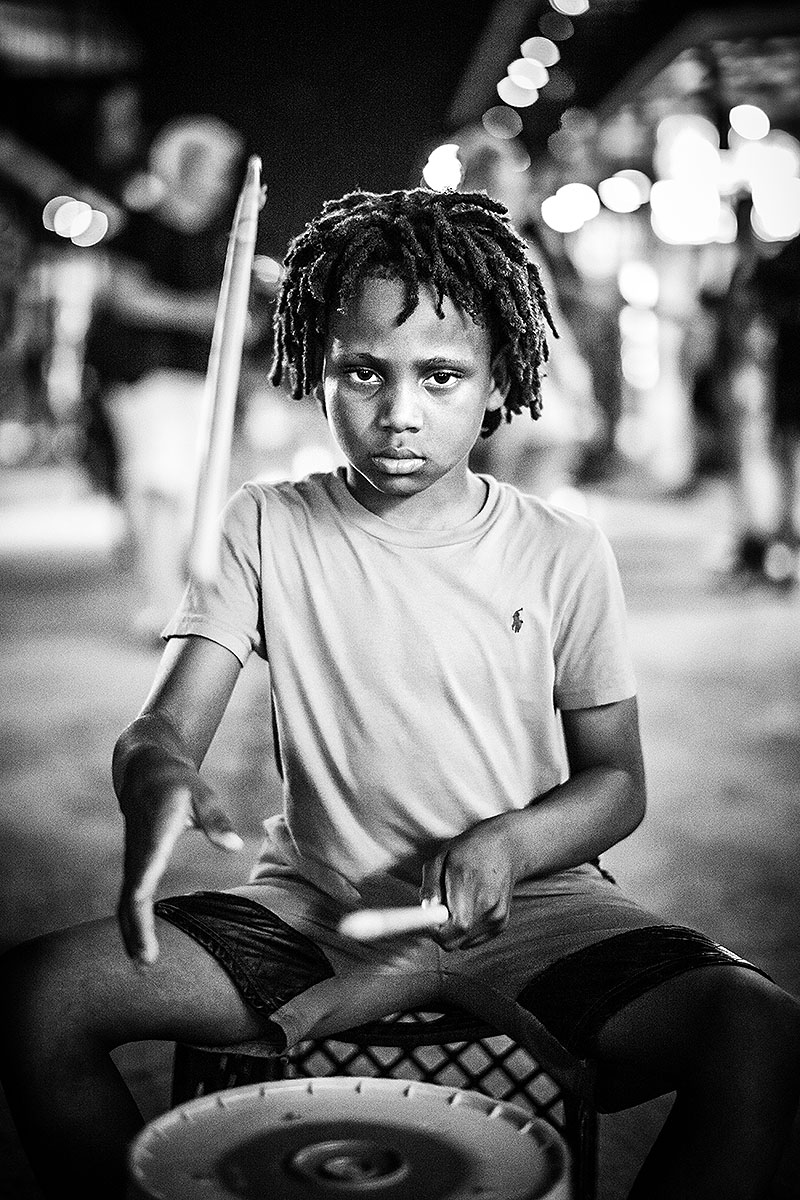 Street Drummer, French Quarter, New Orleans, 2018