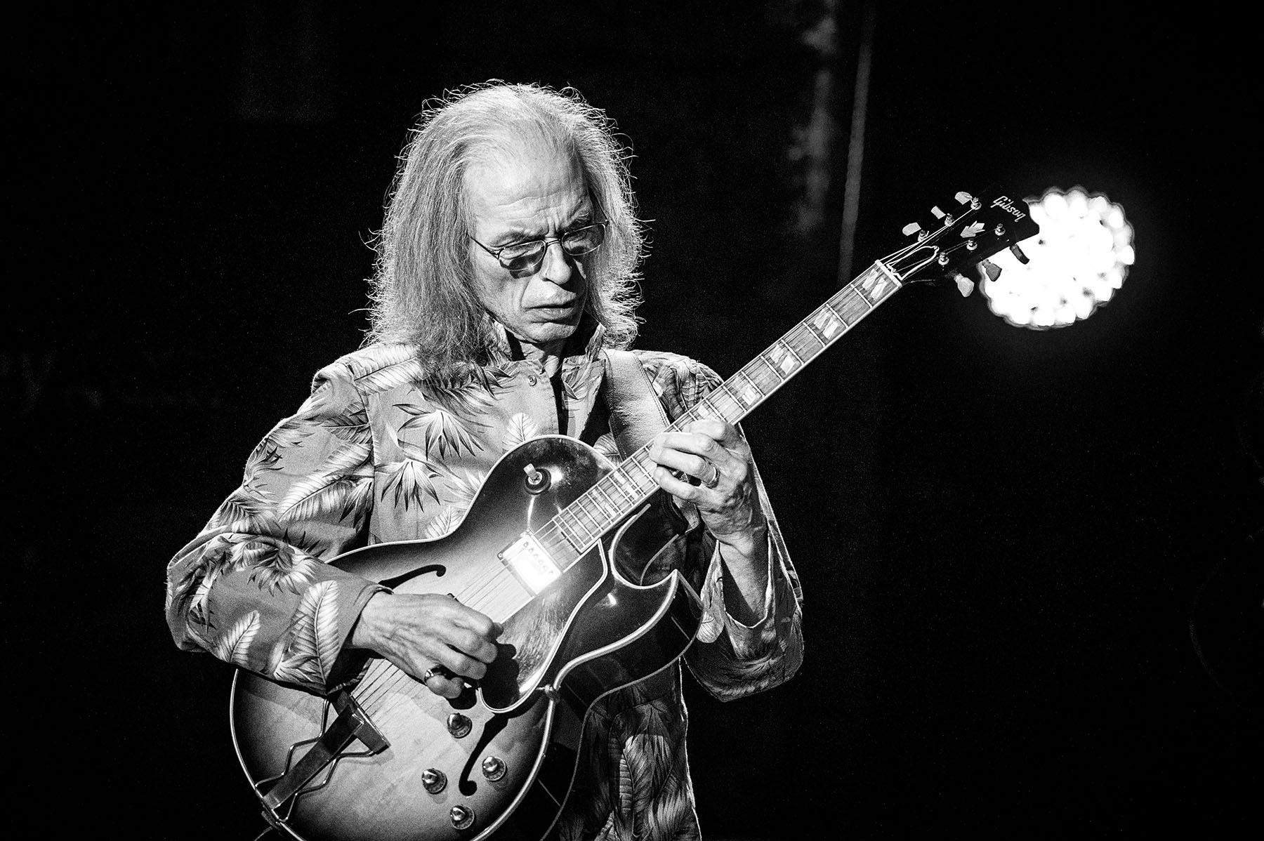 Steve Howe of Yes live at the Mountain Winery